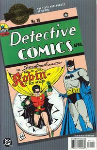 Cover Thumbnail for Millennium Edition: Detective Comics 38 (DC, 2000 series)