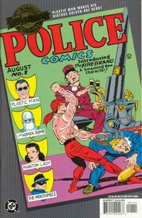 Cover Thumbnail for Millennium Edition: Police Comics No. 1 (DC, 2000 series)