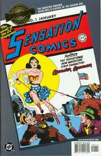 Cover Thumbnail for Millennium Edition: Sensation Comics No. 1 (DC, 2000 series)