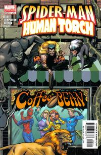 Cover Thumbnail for Spider-Man / Human Torch (Marvel, 2005 series) #2
