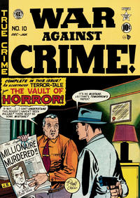 Cover Thumbnail for War Against Crime! (EC, 1948 series) #10