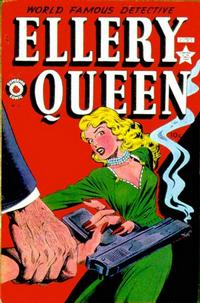 Cover for Ellery Queen (Superior, 1949 series) #2