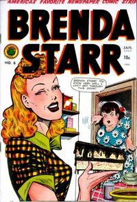 Cover Thumbnail for Brenda Starr Comics (Superior Publishers Limited, 1948 series) #6