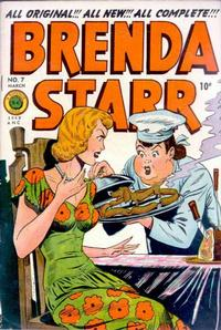 Cover Thumbnail for Brenda Starr Comics (Superior Publishers Limited, 1948 series) #7