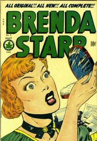 Cover Thumbnail for Brenda Starr Comics (Superior Publishers Limited, 1948 series) #8