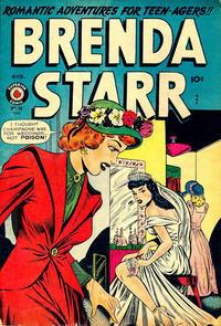 Cover Thumbnail for Brenda Starr Comics (Superior, 1948 series) #10