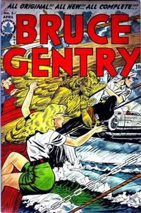 Cover Thumbnail for Bruce Gentry Comics (Superior, 1948 series) #5