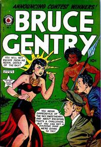 Cover Thumbnail for Bruce Gentry Comics (Superior, 1948 series) #7
