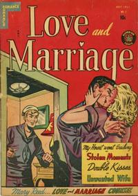 Cover Thumbnail for Love and Marriage (Superior, 1952 series) #3
