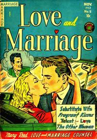 Cover Thumbnail for Love and Marriage (Superior, 1952 series) #5