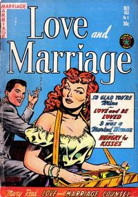 Cover Thumbnail for Love and Marriage (Superior, 1952 series) #8