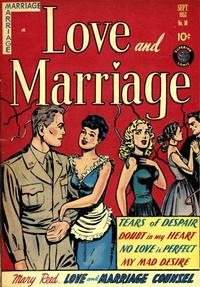 Cover Thumbnail for Love and Marriage (Superior, 1952 series) #10
