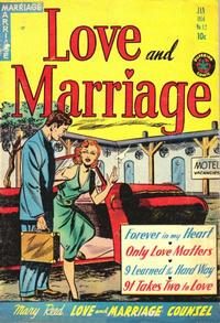 Cover Thumbnail for Love and Marriage (Superior Publishers Limited, 1952 series) #12