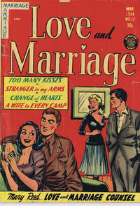 Cover Thumbnail for Love and Marriage (Superior Publishers Limited, 1952 series) #13