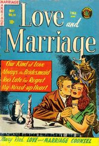 Cover Thumbnail for Love and Marriage (Superior Publishers Limited, 1952 series) #14