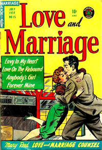 Cover Thumbnail for Love and Marriage (Superior Publishers Limited, 1952 series) #15