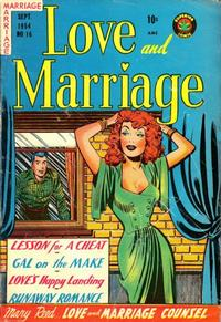 Cover Thumbnail for Love and Marriage (Superior Publishers Limited, 1952 series) #16