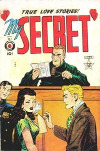 Cover Thumbnail for My Secret (Superior, 1949 series) #1 [U.S. edition]