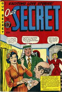 Cover Thumbnail for Our Secret (Superior, 1949 series) #6