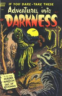 Cover Thumbnail for Adventures into Darkness (Pines, 1952 series) #5