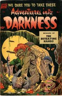 Cover Thumbnail for Adventures into Darkness (Pines, 1952 series) #7