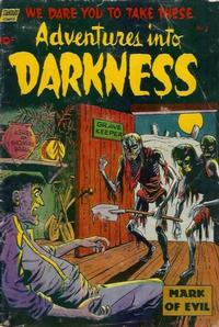 Cover Thumbnail for Adventures into Darkness (Pines, 1952 series) #8