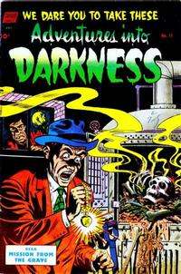Cover Thumbnail for Adventures into Darkness (Pines, 1952 series) #11