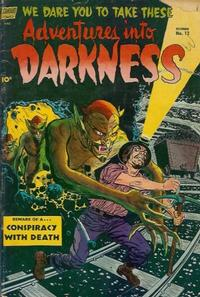Cover Thumbnail for Adventures into Darkness (Pines, 1952 series) #12