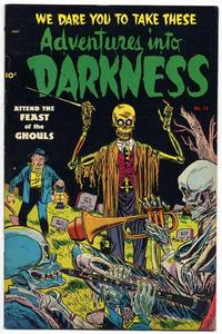 Cover Thumbnail for Adventures into Darkness (Pines, 1952 series) #13