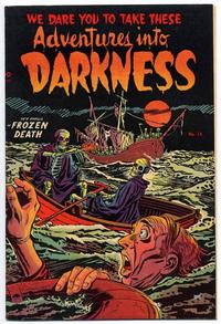 Cover Thumbnail for Adventures into Darkness (Pines, 1952 series) #14