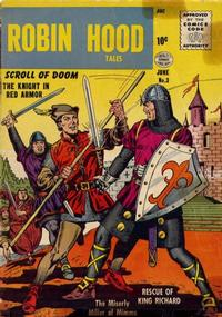 Cover Thumbnail for Robin Hood Tales (Quality Comics, 1956 series) #3