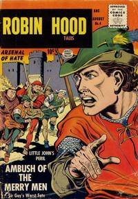 Cover Thumbnail for Robin Hood Tales (Quality Comics, 1956 series) #4