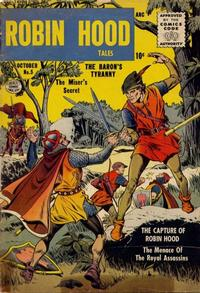 Cover Thumbnail for Robin Hood Tales (Quality Comics, 1956 series) #5