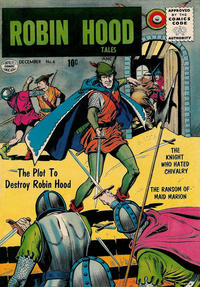 Cover Thumbnail for Robin Hood Tales (Quality Comics, 1956 series) #6