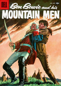 Cover Thumbnail for Ben Bowie and His Mountain Men (Dell, 1956 series) #12