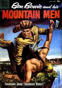 Cover Thumbnail for Ben Bowie and His Mountain Men (Dell, 1956 series) #15 [15¢]