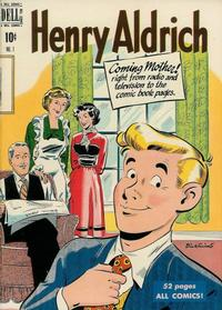 Cover Thumbnail for Henry Aldrich (Dell, 1950 series) #1