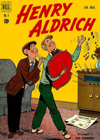 Cover Thumbnail for Henry Aldrich (Dell, 1950 series) #4