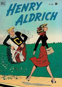 Cover Thumbnail for Henry Aldrich (Dell, 1950 series) #8