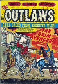 Cover Thumbnail for The Outlaws (Star Publications, 1952 series) #13