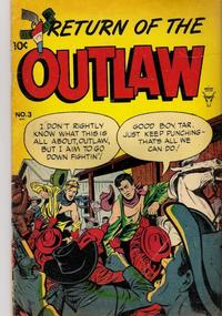 Cover Thumbnail for Return of the Outlaw (Toby, 1953 series) #3