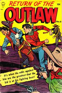 Cover Thumbnail for Return of the Outlaw (Toby, 1953 series) #6
