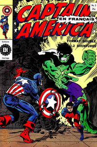 Cover Thumbnail for Capitaine America (Editions Héritage, 1970 series) #3