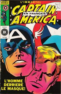 Cover Thumbnail for Capitaine America (Editions Héritage, 1970 series) #4