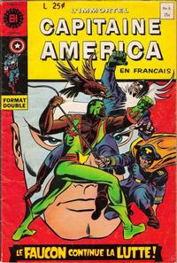 Cover Thumbnail for Capitaine America (Editions Héritage, 1970 series) #6