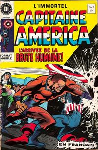 Cover Thumbnail for Capitaine America (Editions Héritage, 1970 series) #7