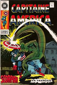Cover Thumbnail for Capitaine America (Editions Héritage, 1970 series) #8