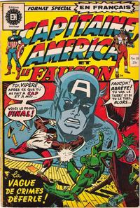 Cover Thumbnail for Capitaine America (Editions Héritage, 1970 series) #18