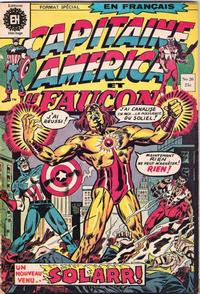 Cover Thumbnail for Capitaine America (Editions Héritage, 1970 series) #20