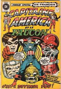 Cover Thumbnail for Capitaine America (Editions Héritage, 1970 series) #22
